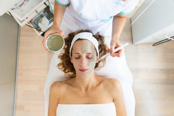 spa treatment branding photography