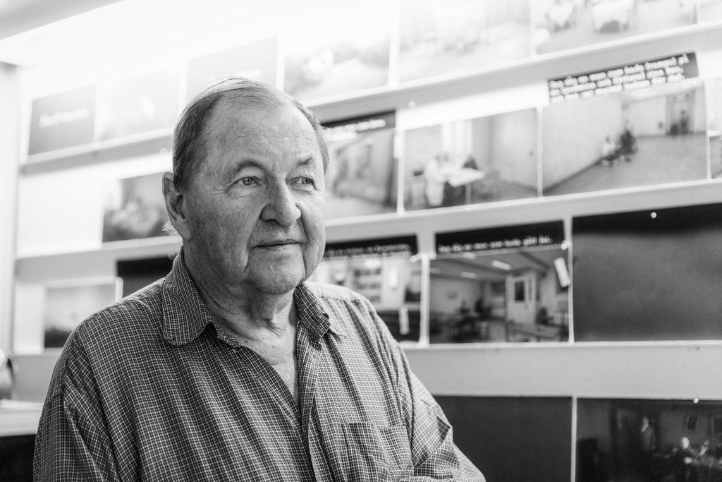 Swedish film director Roy Andersson